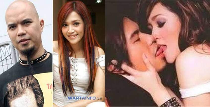Foto Ciuman Hot Maia Estianty dan Ahmad Dhani